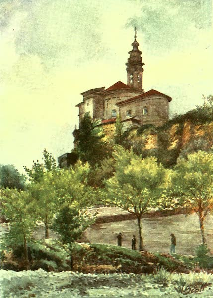 The Riviera Painted & Described - Church of S. Pons, Nice (1907)