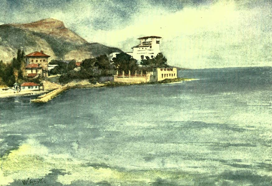 The Riviera Painted & Described - Beaulieu (1907)