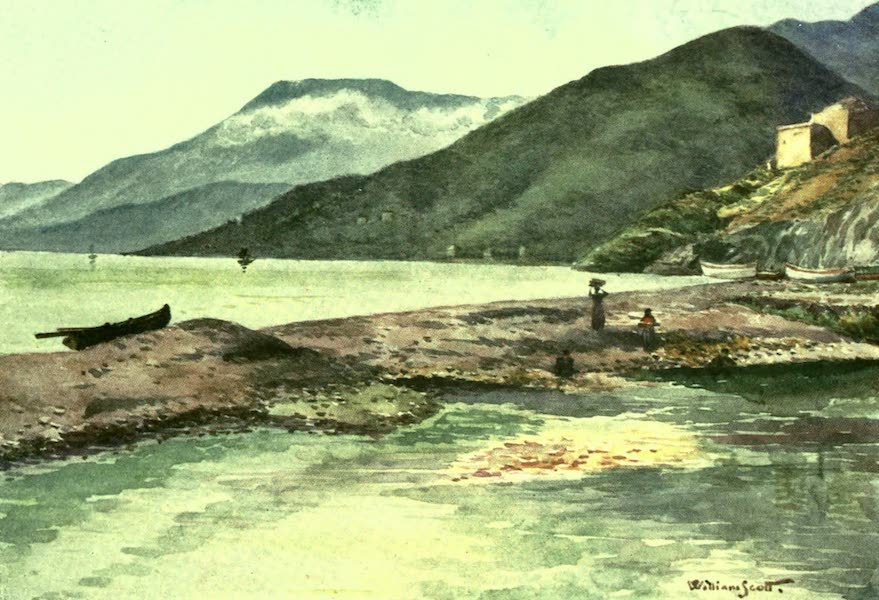 The Riviera Painted & Described - Italy and France. Mouth of the Roya (1907)