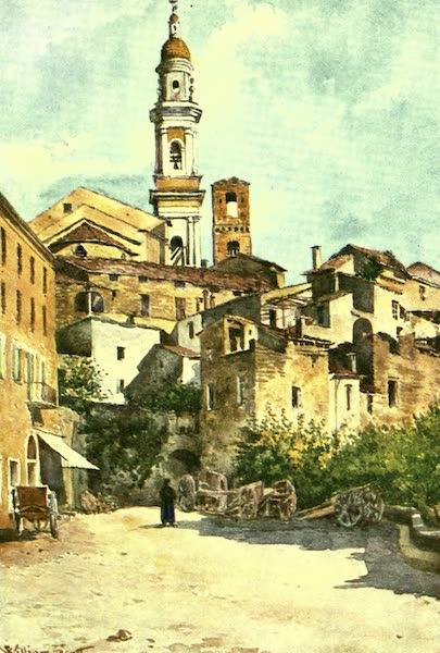 The Riviera Painted & Described - Entrance to Vallebona (1907)
