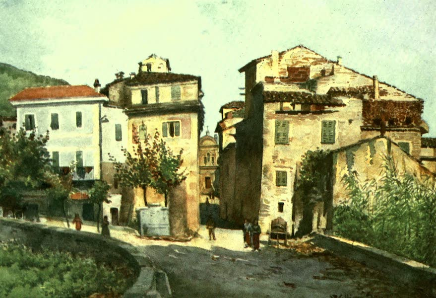 The Riviera Painted & Described - Entrance to Camporosso - West (1907)