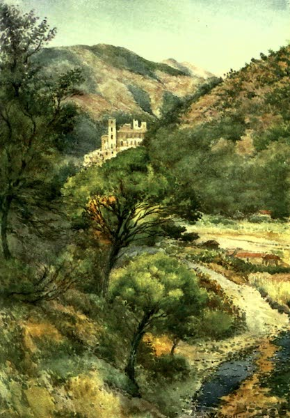 The Riviera Painted & Described - In the Nervia Valley - Castle of the Doria (1907)