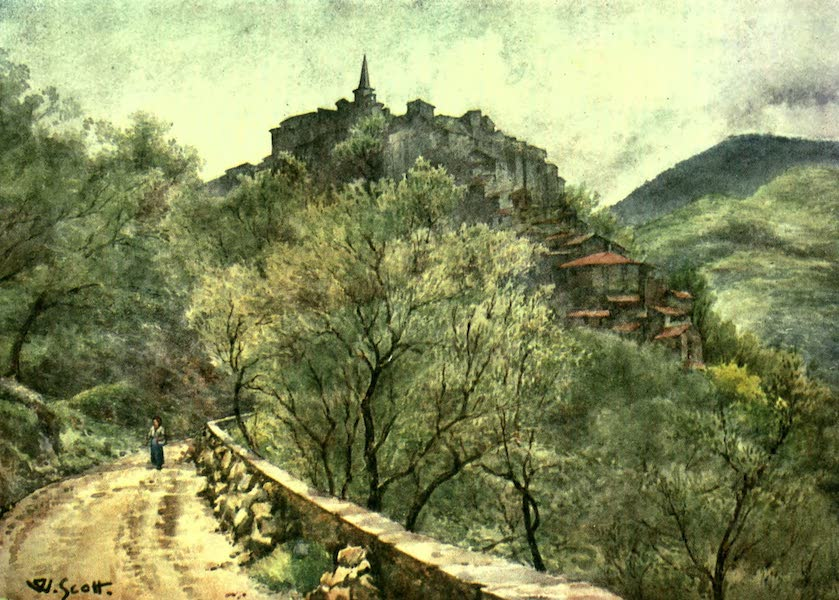 Apricale, from the West