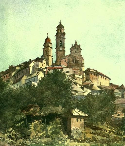 The Riviera Painted & Described - Cervo (1907)
