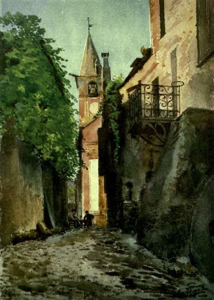 The Riviera Painted & Described - Street in Villanuova, near Albenga (1907)