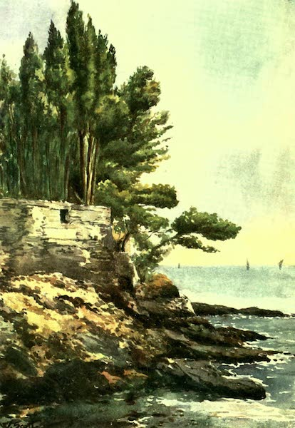 The Riviera Painted & Described - Capo Lungo, Nervi (1907)