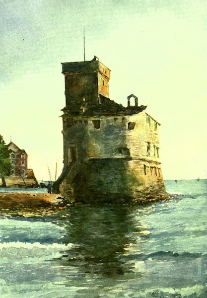 The Riviera Painted & Described - Old Tower, Rapallo (1907)