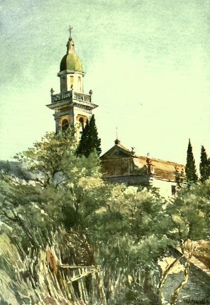 The Riviera Painted & Described - Church of S. Massimo, near Rapallo (1907)