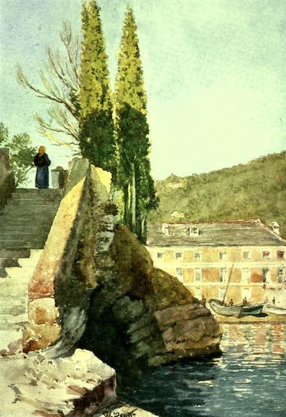 """The Riviera Painted & Described - The """"Cavetto di S. Michele,"""" near Rapallo (1907)"""