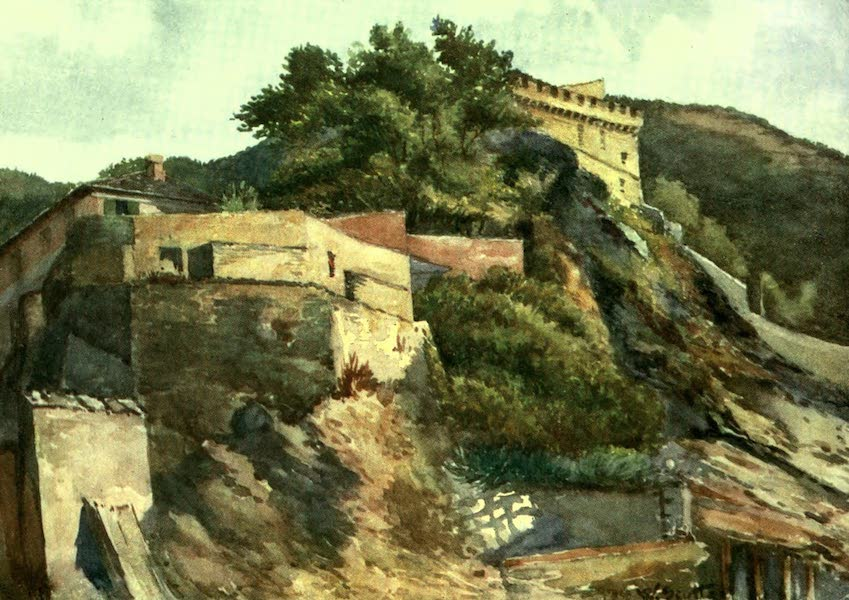 The Riviera Painted & Described - The Old Castle, Levanto (1907)