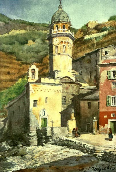 The Riviera Painted & Described - Vernazza (1907)