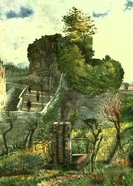 The Riviera Painted & Described - Old Bastion, Sarzana (1907)