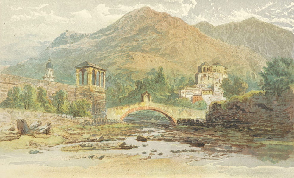 The Riviera: Pen and Pencil Sketches from Cannes to Genoa - At Loano (1870)