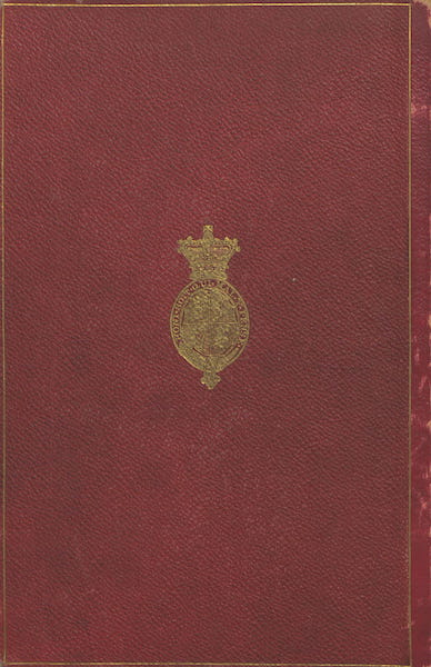 The Riviera: Pen and Pencil Sketches from Cannes to Genoa - Back Cover (1870)