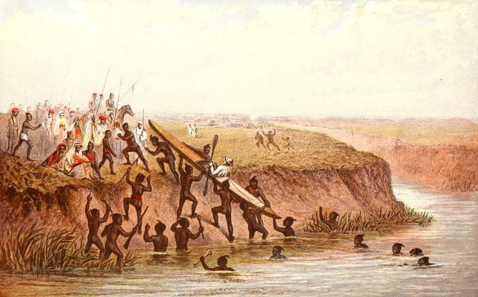 The Rob Roy on the Jordan - Captured on Jordan by the Arabs of Hooleh (1869)