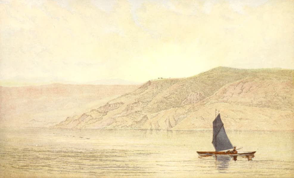 The Rob Roy on the Jordan - Country of the Gergesenes View from Kerak (1869)
