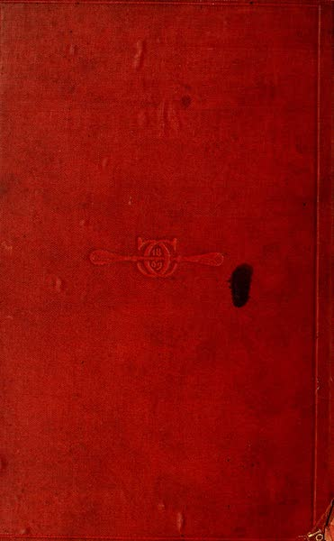 The Rob Roy on the Jordan - Back Cover (1869)