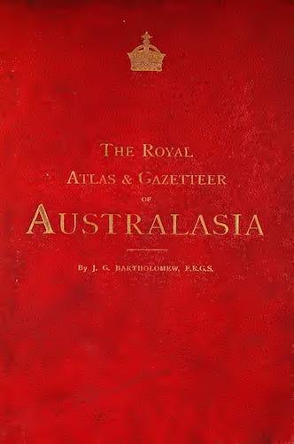 Nan Madol - The Royal Atlas & Gazetteer of Australasia