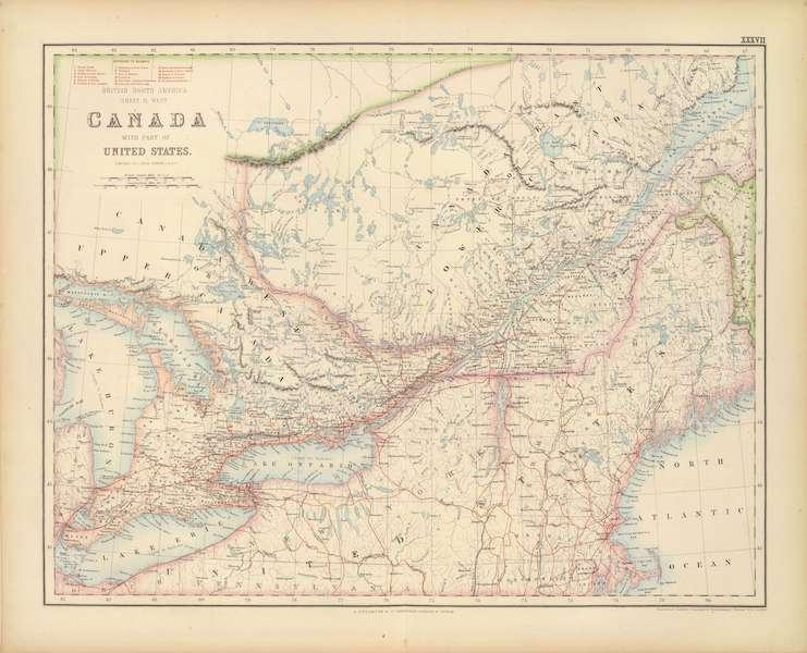 British North America Sheet II - West