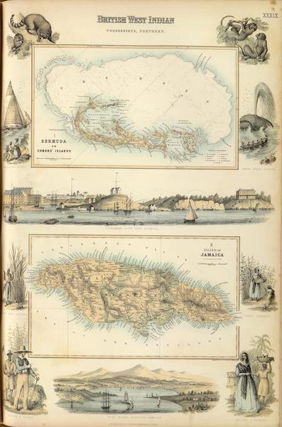 The Royal Illustrated Atlas - British West Indian Possessions Northern (1872)