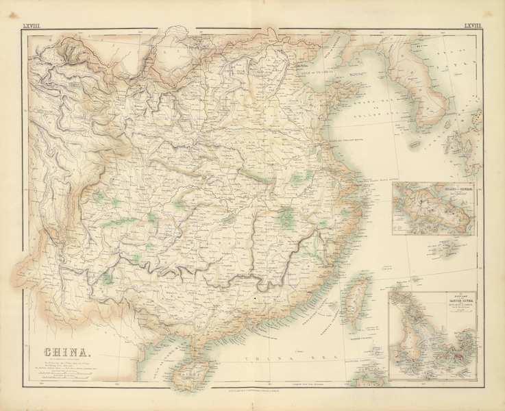 The Royal Illustrated Atlas - China (1872)