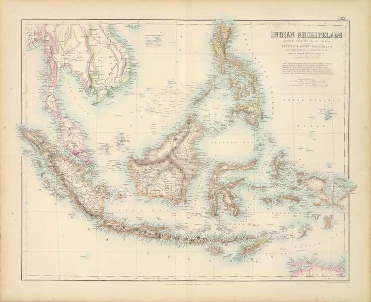 The Royal Illustrated Atlas - Indian Archipelago (1872)