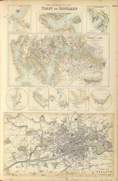 The Royal Illustrated Atlas - Ports and Harbours on the West Coast of Scotland (1872)