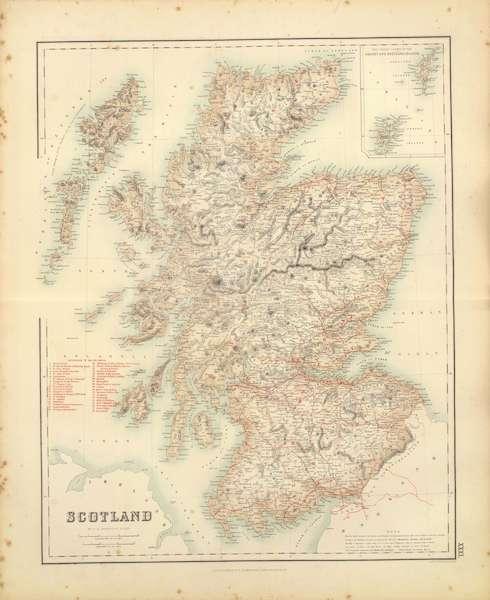 The Royal Illustrated Atlas - Scotland (1872)