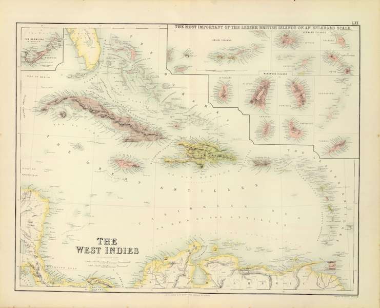 The Royal Illustrated Atlas - The West Indies (1872)