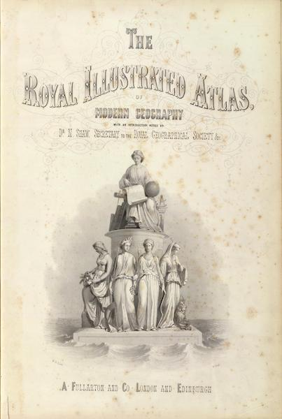 The Royal Illustrated Atlas - Title Page (1872)