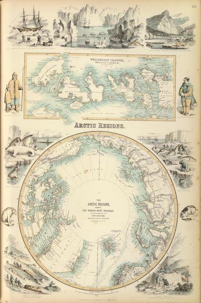 The Royal Illustrated Atlas - Arctic Regions (1872)