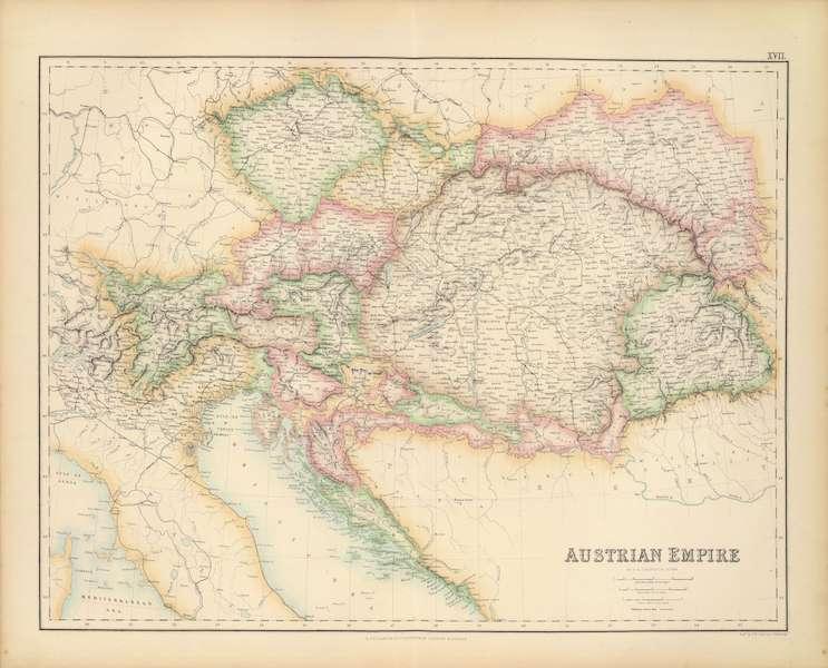 The Royal Illustrated Atlas - Austrian Empire (1872)