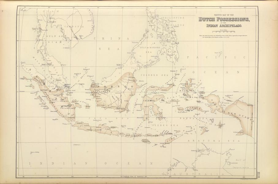The Royal Illustrated Atlas - Dutch Possessions in the Indian Archipelago (1872)