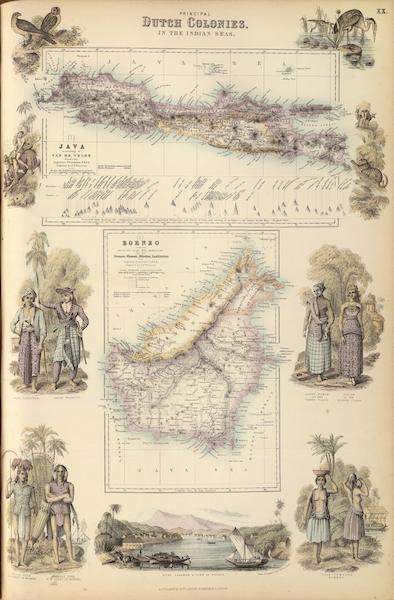 The Royal Illustrated Atlas - Principal Dutch Colonies in the Indian Seas (1872)