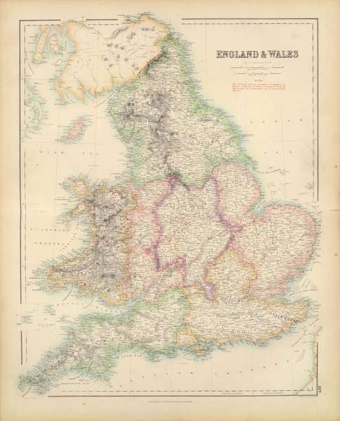 The Royal Illustrated Atlas - England and Wales (1872)