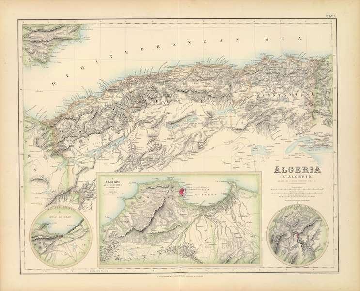 The Royal Illustrated Atlas - Algeria (1872)