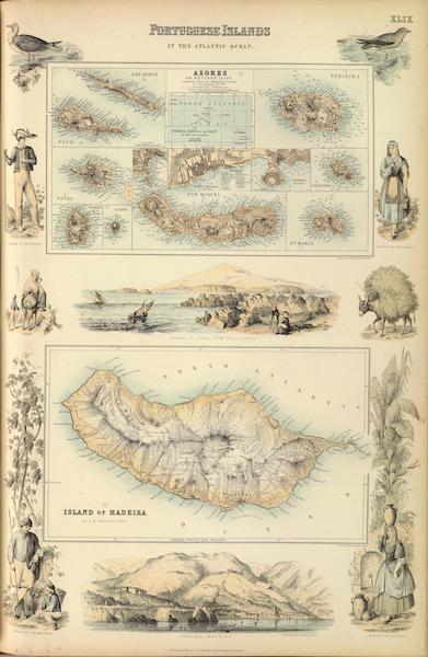 The Royal Illustrated Atlas - Portuguese Islands in the Atlantic Ocean (1872)