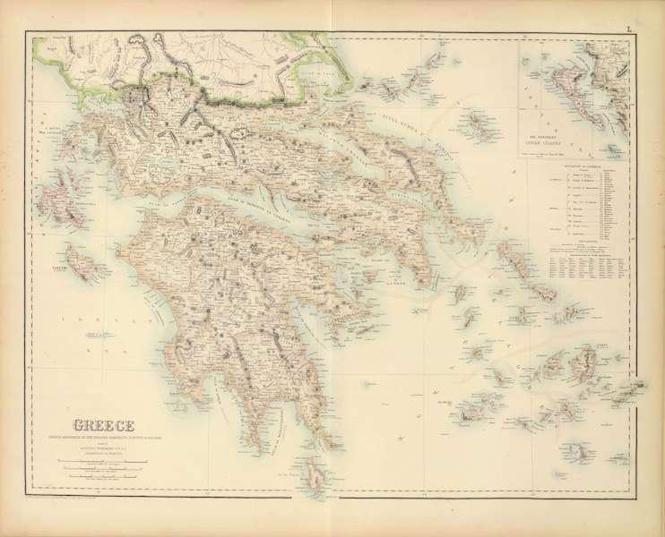 The Royal Illustrated Atlas - Greece (1872)