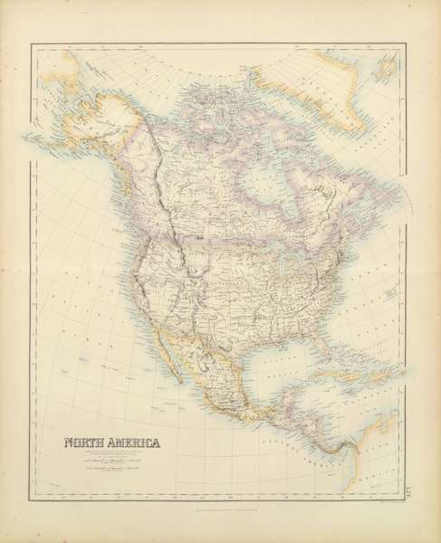 The Royal Illustrated Atlas - North America (1872)
