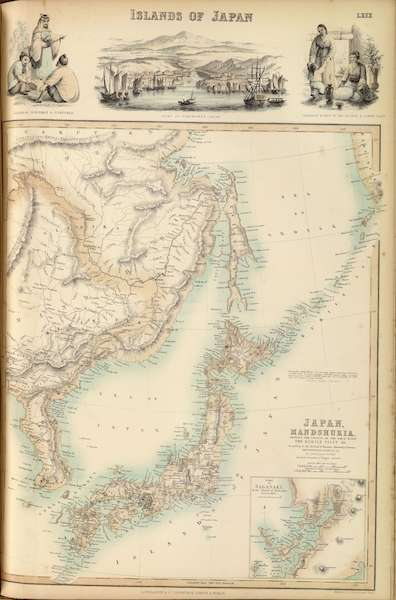 The Royal Illustrated Atlas - Islands of Japan (1872)