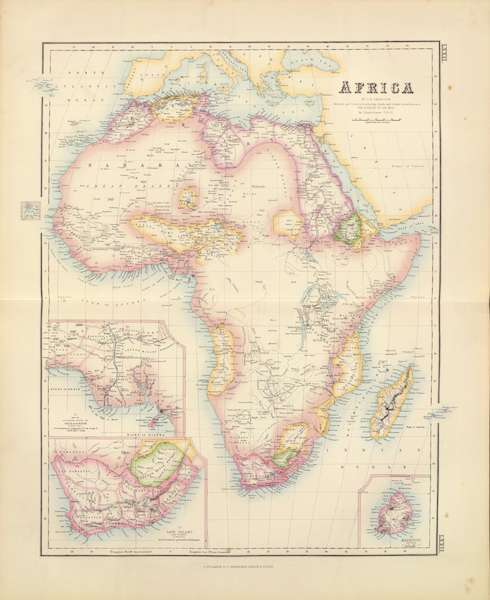 The Royal Illustrated Atlas - Africa (1872)