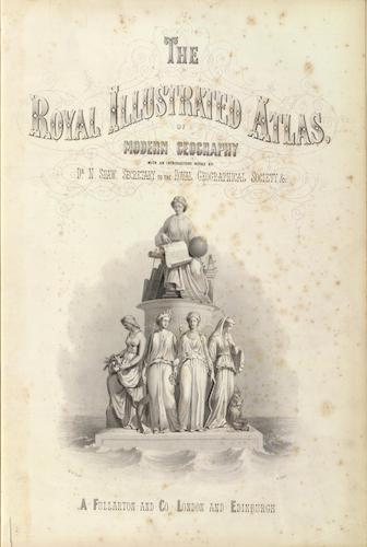 David Rumsey Cartography - The Royal Illustrated Atlas