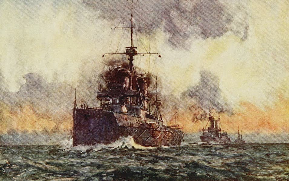 The Royal Navy, Painted and Described - H.M.S. Dreadnought (1907)