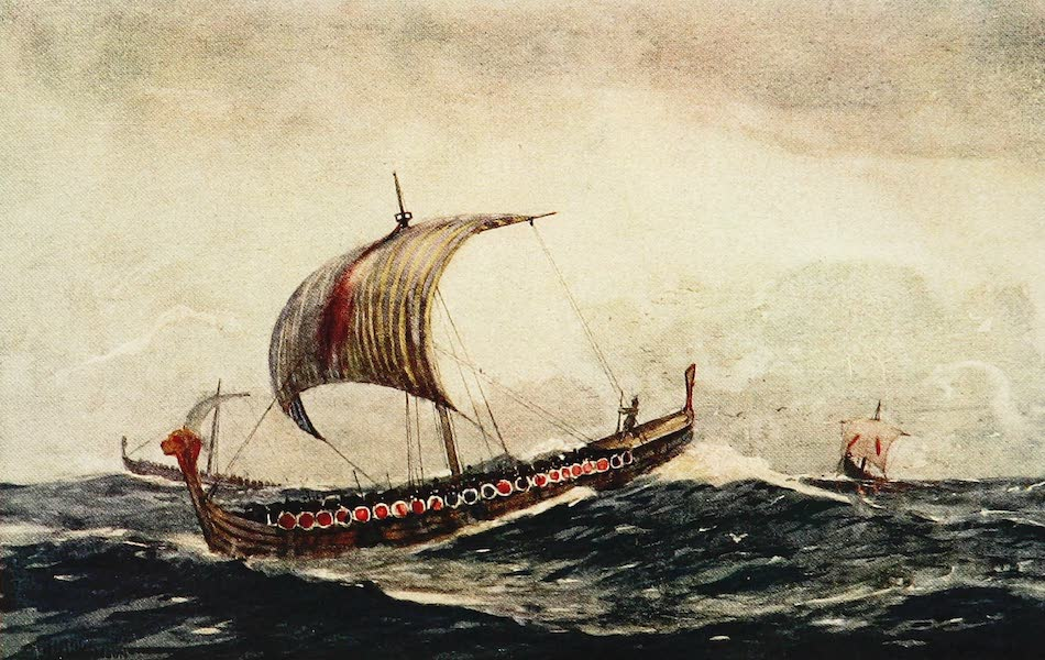 The Royal Navy, Painted and Described - Ship of the Time of Alfred the Great (1907)