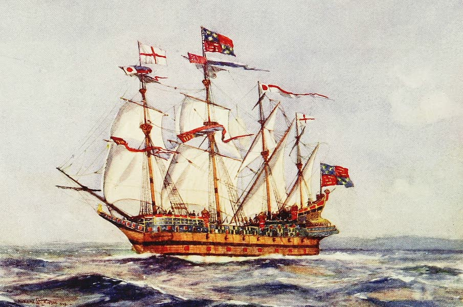 The Royal Navy, Painted and Described - The Henry Grace de Dieu. 1515 (1907)