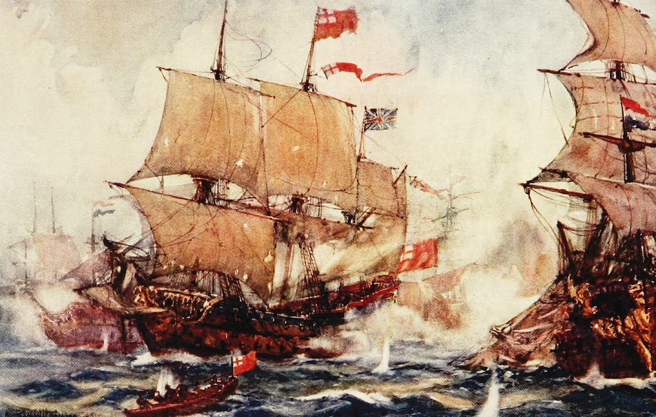 The Royal Navy, Painted and Described - The Battle of Sole Bay. May 28th, 1672 (1907)
