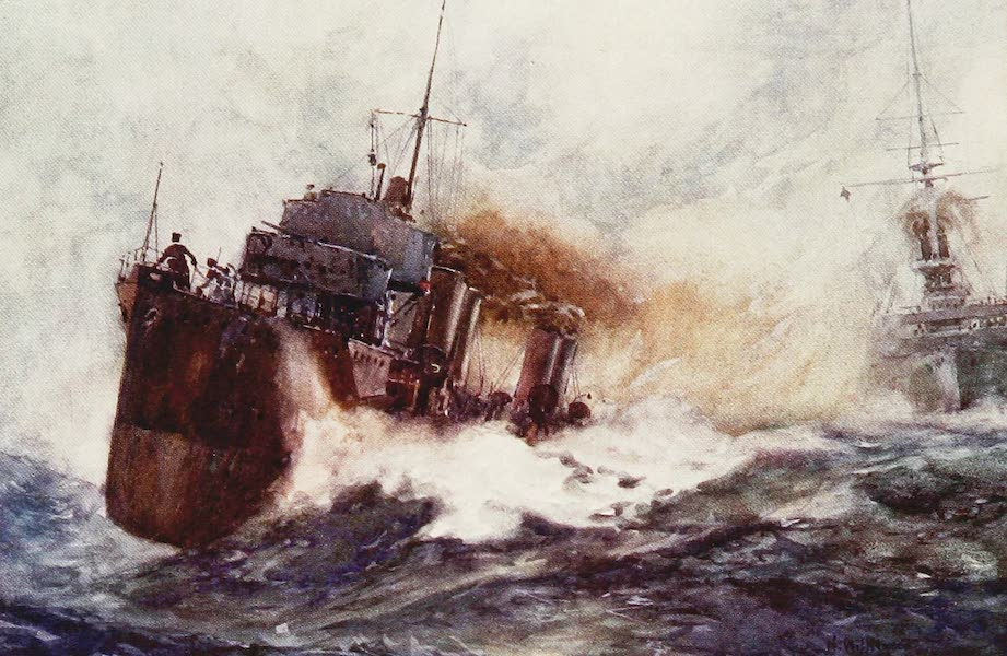 The Royal Navy, Painted and Described - A River Class Destroyer (1907)
