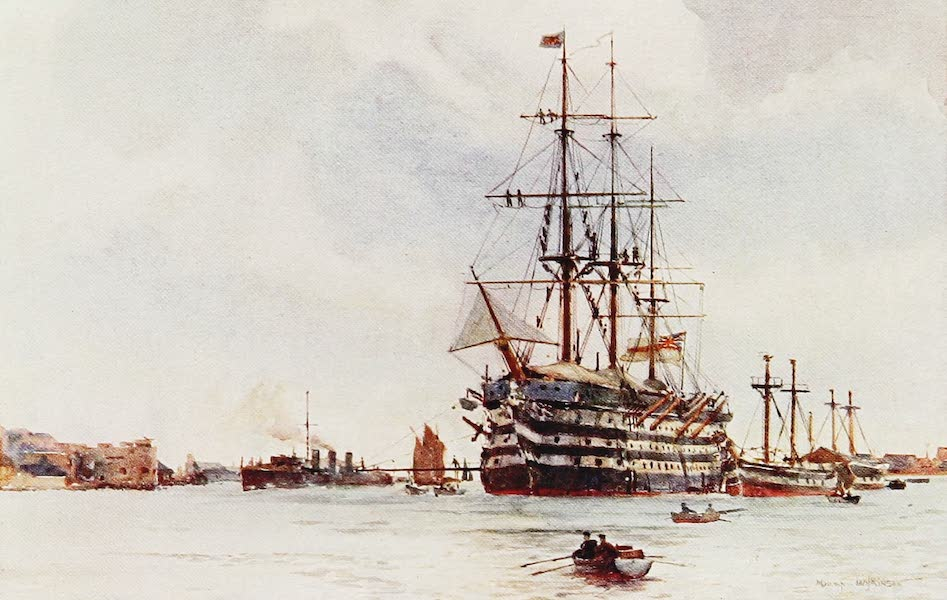 The Royal Navy, Painted and Described - H.M.S. St Vincent (1907)