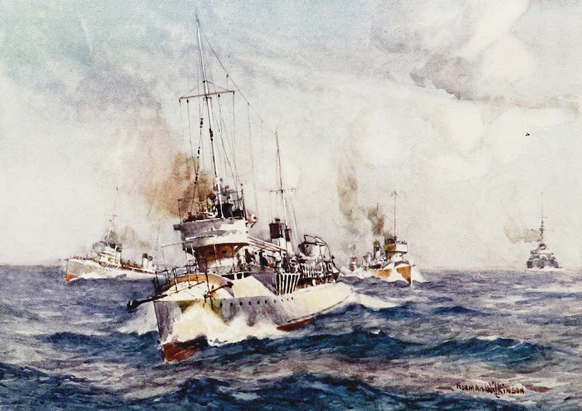 The Royal Navy, Painted and Described - French Destroyers (1907)