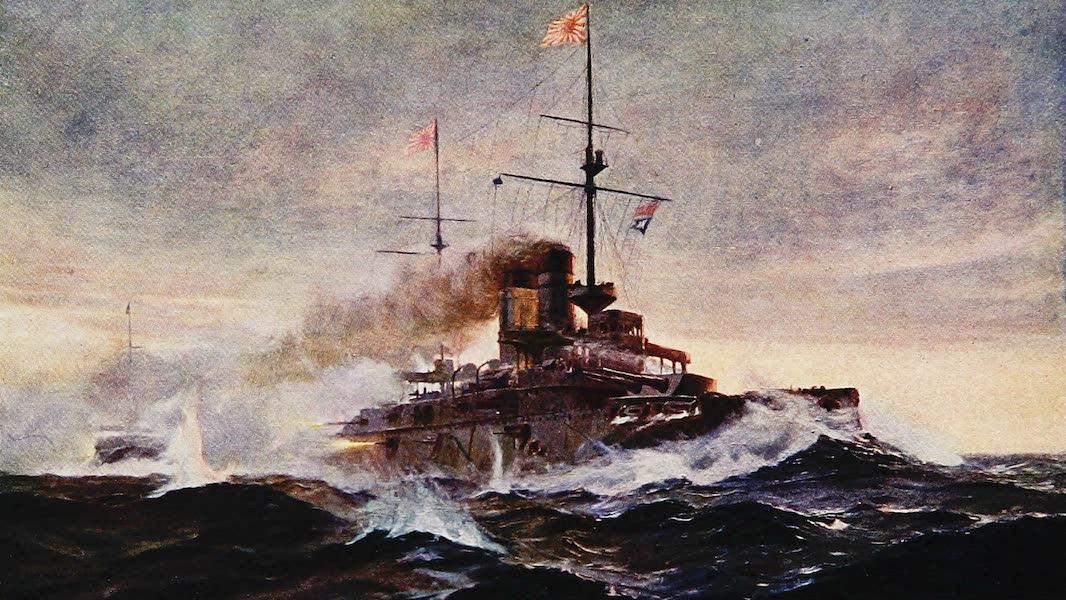 The Royal Navy, Painted and Described - Japanese Battleship Asahi (1907)